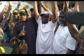 2021 LG ELECTION :  Hon. Fafumi With Other Ifako Ijaiye Leaders and Opinion Moulders Endorse Prince Usman Akanbi Hamzat